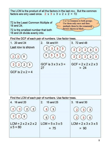 Image of Canadian Math 8 Answer Book (Download)