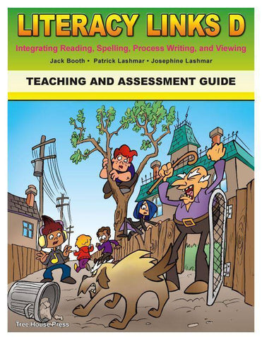 Image of Literacy Links D Teaching and Assessment Guide