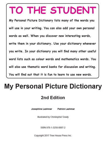 Image of My Personal Picture Dictionary