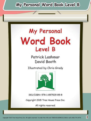 My Personal Word Book Level B