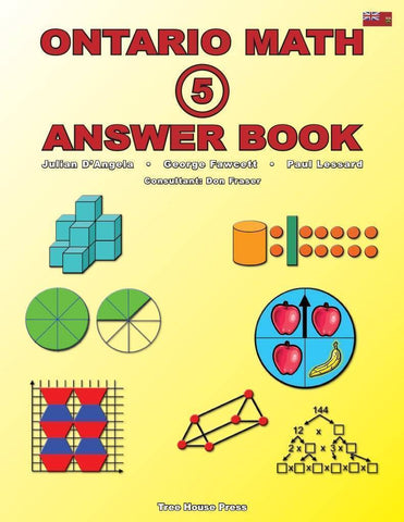 Image of Ontario Math 5 Answer Book