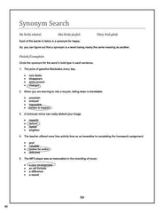 Vocabulary Essentials 1  Answer Book (Download Only)