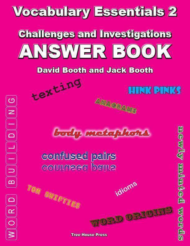 Vocabulary Essentials 2  Answer Book (Download Only)