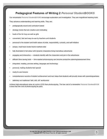 Writing 2 Teaching and Assessment Guide