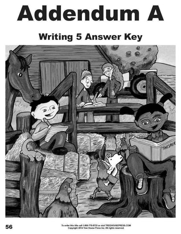 Writing 5 Teaching and Assessment Guide