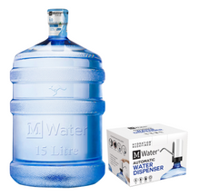 Load image into Gallery viewer, Single 15 Litre Bottle with USB Dispenser