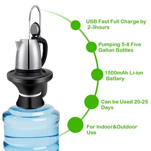 SUMMER MADNESS Portable USB Water Dispenser Combo