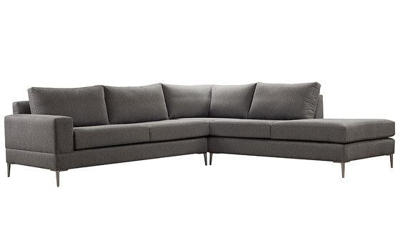 relax in style with the aria sectional from attica