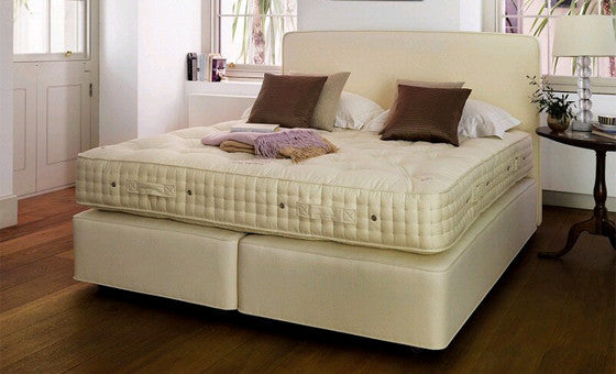 the classic superb mattress by vi-spring; handmade like no other