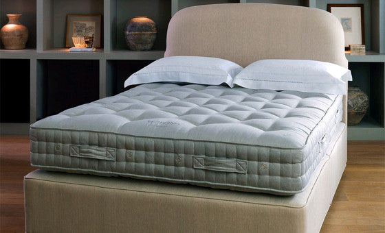the coronet mattress by vi-spring; handmade like no other