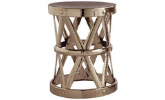 live in style with costello iron accent table from attica