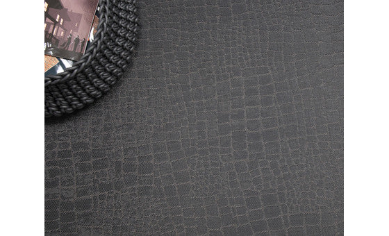 decorate in style with the croc bronze rug from attica