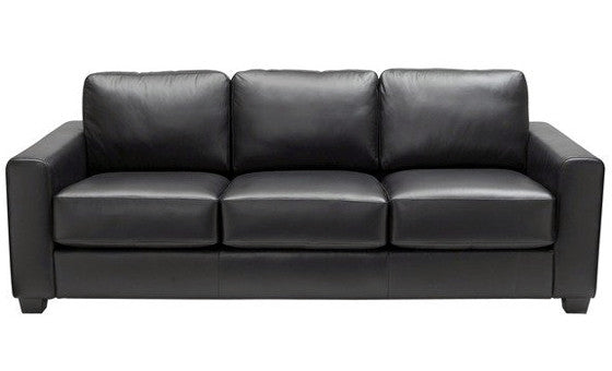 relax in style in the johnson leather sofa from attica