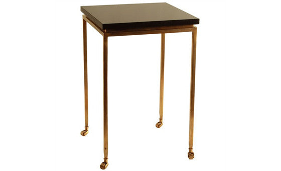 live in style with the marble-brass side table from attica