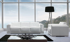 relax in style in the pradi leather sofa from attica