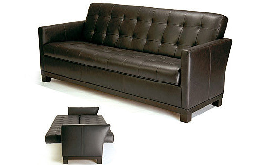 entertain in style with the pronto sofa bed from attica