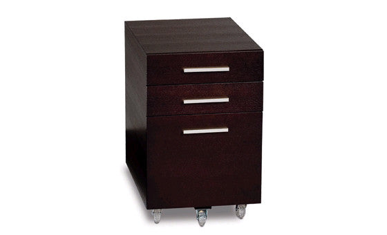 organize in style with the sequel low file pedestal cabinet from attica