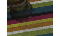 decorate in style with the shag indoor/outdoor multi rug from attica