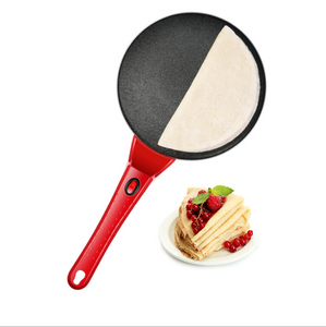 Simple-operation Pancake/Crepe Machine (Free Plug Adapter)