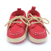 Load image into Gallery viewer, Baby Boy Shoes Infant First Walkers Nonslip hard Sole Toddler Baby Shoes Hot Sale for 0-18M Sole Toddler Baby Shoes Drop Ship