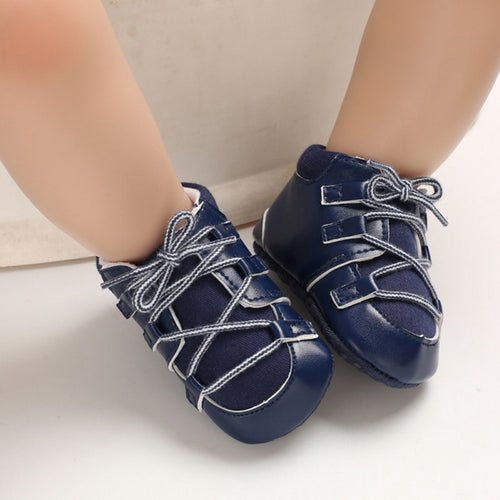 Anti-slip First Walkers PU Sneaker Sport Shoes For Girls Boys Shoes Baby Shoes Newborn Baby Walker Infant Child Soft Bottom