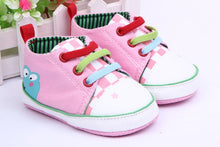 Load image into Gallery viewer, Anti-slip First Walkers PU Sneaker Sport Shoes For Girls Boys Shoes Baby Shoes Newborn Baby Walker Infant Child Soft Bottom