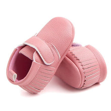 Load image into Gallery viewer, 6 Colors Spring Baby Shoes PU Leather Newborn Boys Girls Shoes First Walkers Baby Moccasins 0-12 Months