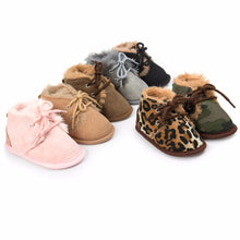 Load image into Gallery viewer, 2017 Winter Baby Boys Girls Keep Warm Shoes First Walkers Sneakers Kids Crib Bebe Infant Toddler Footwear Solid Boots Prewalkers