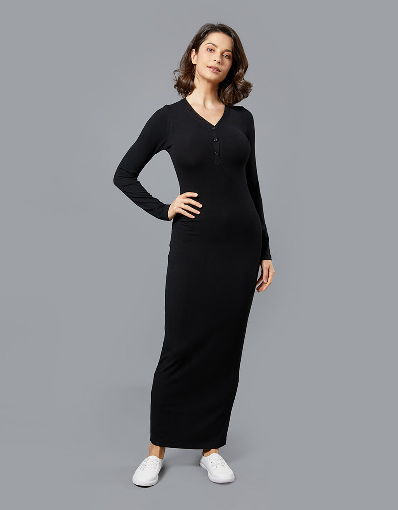 Relaxed Rib Dress -  Modelle