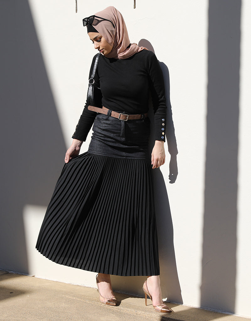 Modish Pleat Skirt -  Modelle