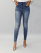 Blue Stone Wash Grazed Rider Denim -  Modelle