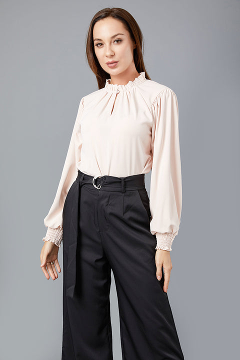 Lustrous High Neck Blouse -  Modelle