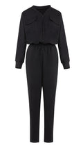 Relaxed Cotton Jumpsuit -  Modelle