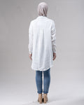 Long Shell Button Shirt -  Modelle