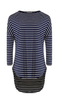 Stripe High Low Top -  Modelle