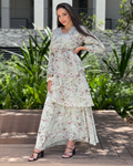 Gloria Floral Tier Dress