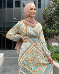 Gloria Paisley Dress