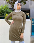 Raglan Sleeve Long Top