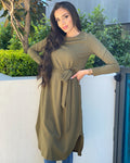 Aria Loop Hem Dress