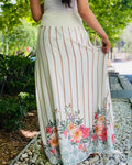 Pearl Floral Skirt