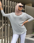 Striped Loop Top