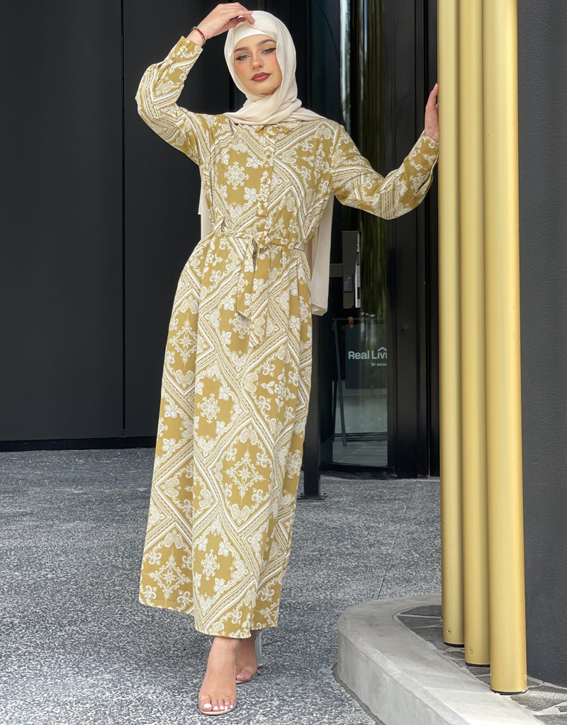 M7436-PrintSage-dress-abaya