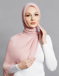 Chiffon Shawl - Deep Dusty Pink