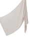 Cotton Tassleless Shawl - Beige