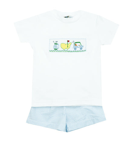 Le Za Me Golf Two Piece Shorts Set