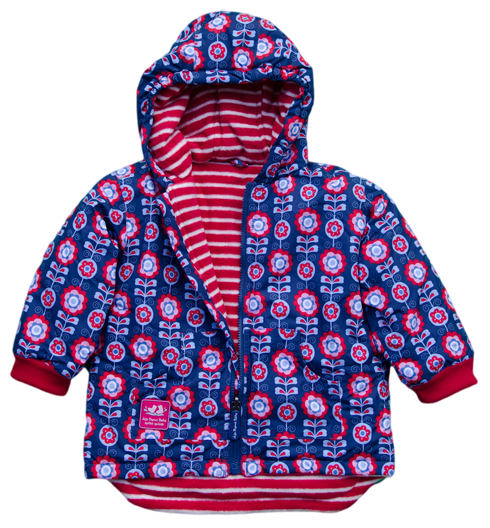 JoJo Maman Bebe Reversible Puffer Jacket - Kids on King