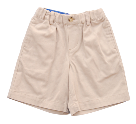 J. Bailey Khaki Pull-On Shorts - Toddler Boy