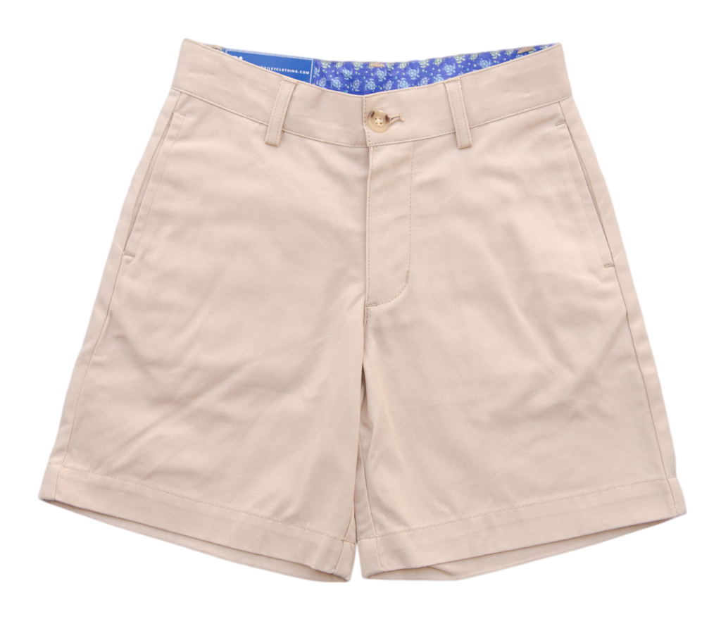 J. Bailey Khaki Shorts - Boy