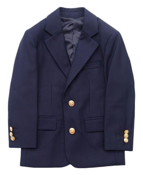 J. Bailey Navy Blazer - Kids on King