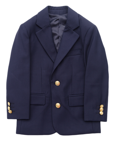 J. Bailey Navy Blazer - Toddler Boy